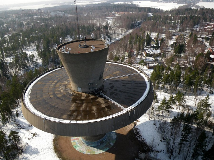 Myllpuro_water_tower_aerial